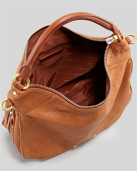 Marc Washed Leather Purse by Lyst Marc By Marc Washed Up Billy Hobo Bag In Brown
