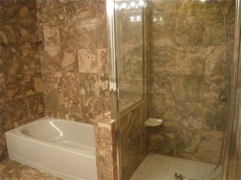 glass enclosed shower glass enclosed tub images