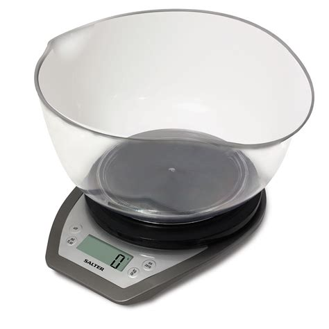 Electronic Kitchen Scale by Salter Electronic Kitchen Scales With Dual Pour Mixing