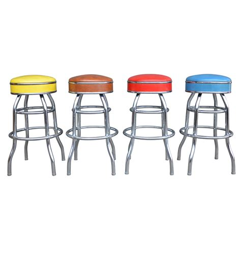Multi Color Stool by Set Of 4 Multi Colored Stools Rejuvenation
