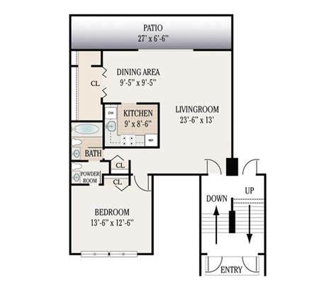Levittown Floor Plans by Floor Plans Woodbourne Apartments For Rent In Levittown Pa
