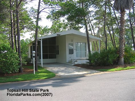 State Parks With Cabins In Florida by Topsail Hill State Park