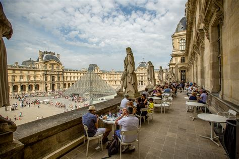 Restaurant Tables And Chairs Where To Eat At The Louvre Eater