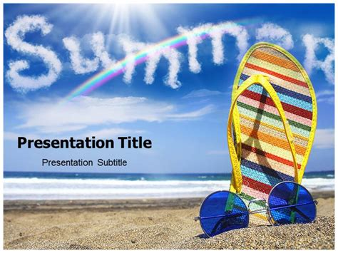 summer powerpoint themes powerpoint templates free summer gallery powerpoint