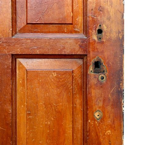 Antique Exterior Doors For Sale Antique Paneled 36 Entry Door With Four Pane Window Ned137 For Sale Antiques Classifieds