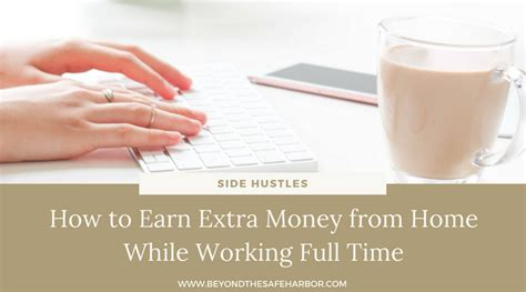 how to earn money from home while working time