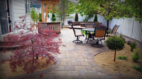 landscaping reno nv reno back yard landscape renovation projects pavers bbq firepit