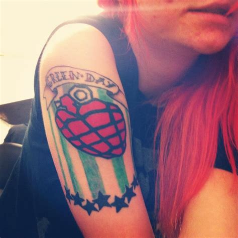 green day tattoo green day tattoos design ideas pictures gallery