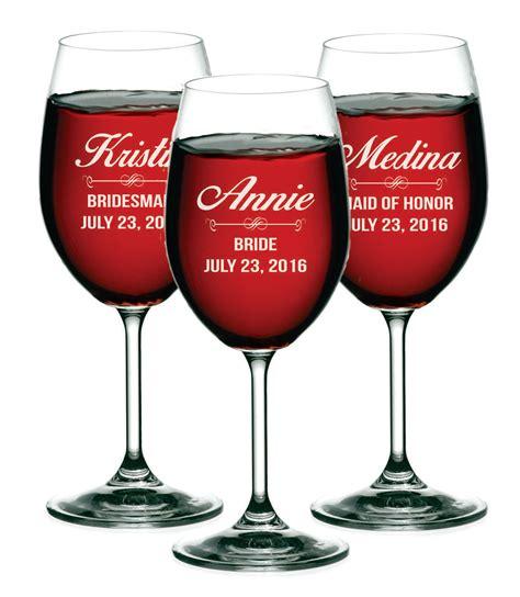 Custom Wine Glasses Custom Wine Glasses Personalized Wine By Mypersonalmemories