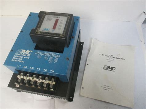 mc technologies    soft start motor control  series