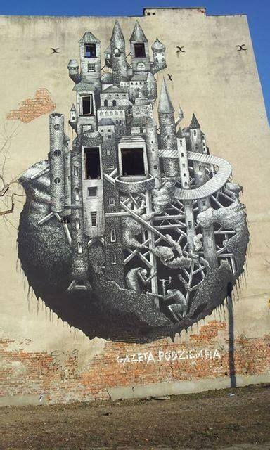 mural warszawa ul minska  fot piotr nalecz