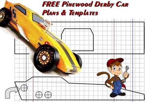 free pinewood derby car plans and templates pinewood