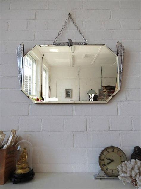 frameless wall mirrors art deco mirrors bathroom mirrors vintage bevelled edge wall mirror art deco beveled by