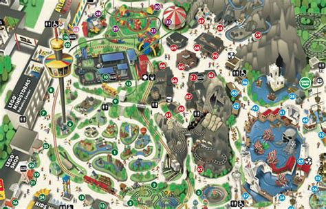printable map legoland windsor legoland map