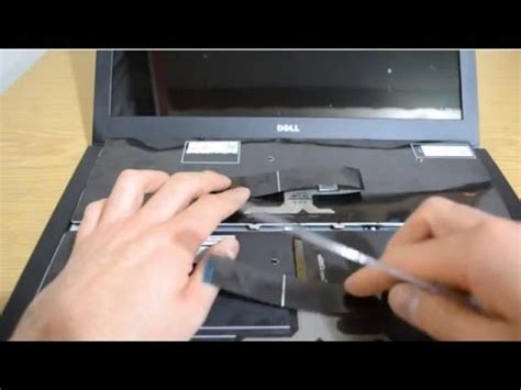 replace keyboard dell inspiron 15 5000 series 5547 youtube
