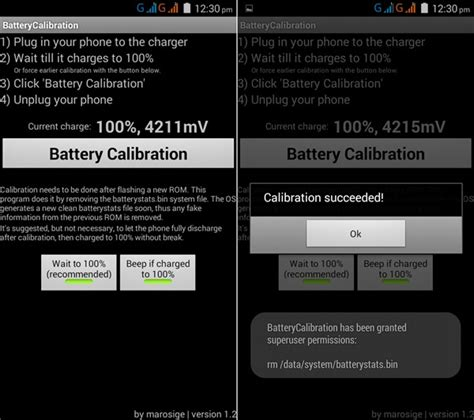 battery calibration android phone battery discharging fast recalibrate the battery in android