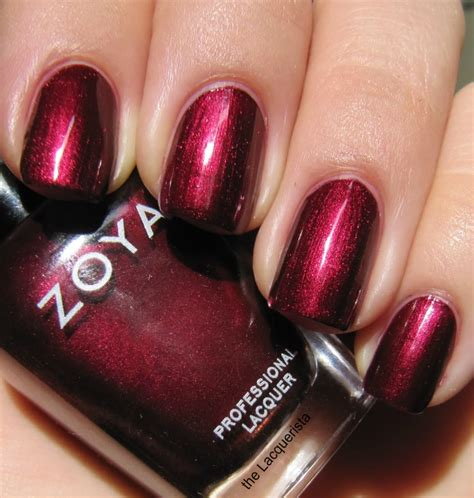 Eyeshadow Zoya from the lacquerista blair nail by zoya chanel malice dupe