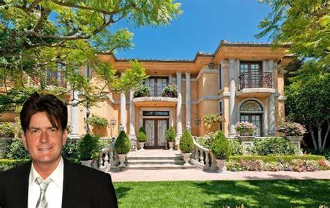 actors houses charlie sheen photos inside celebrity homes charlie