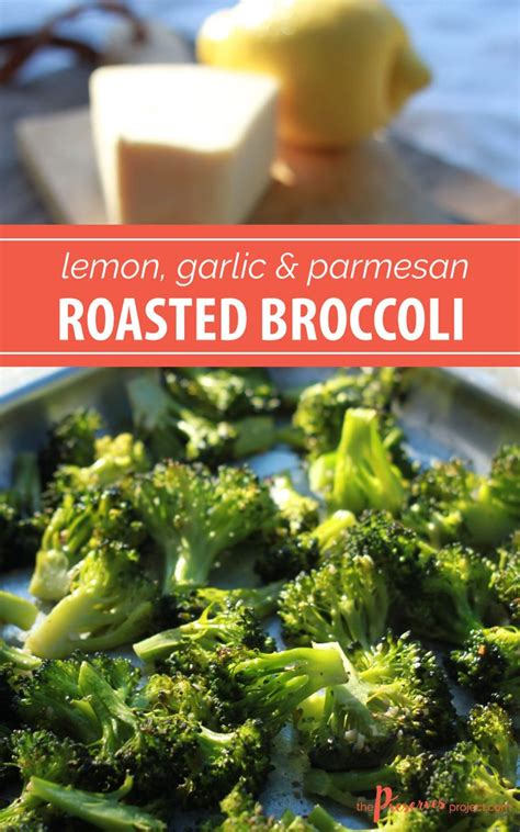 recipe garlicky roasted broccoli quick side dish 1000 ideas about roasted broccoli parmesan on pinterest