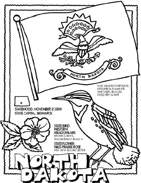 north dakota coloring page crayola com
