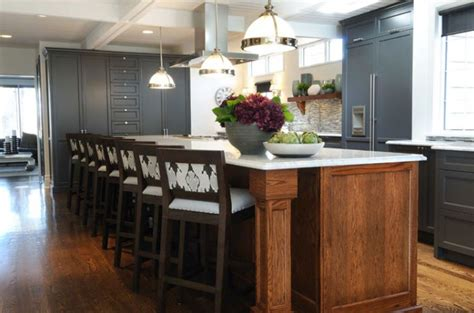 grey blue kitchen cabinets two tone kitchen ideas contemporary kitchen