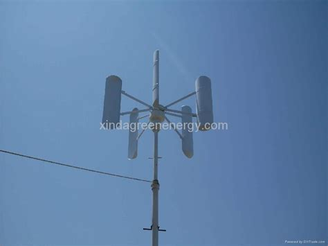 1kw vertical wind turbine generator home wind power