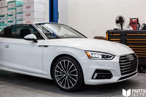 Audi A5 B9 by Audi B9 A4 A5 Neuspeed Power Module Installed In