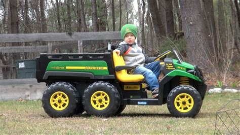 gator power wheels peg perego john deere gator 6x4 ride on vehicle for kids