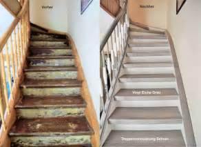 treppen selber renovieren treppenrenovierung arnstadt vinyl grau flur