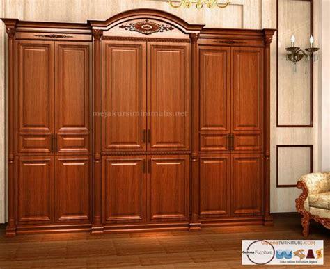 Furniture Lemari Kayu lemari pakaian 6 pintu kayu jati toko furniture