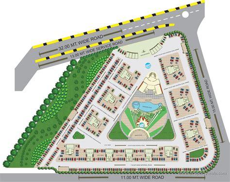 layout plan nisarg hyde park kharghar navi mumbai residential