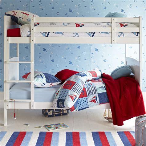 Aspace Bunk Beds Milford Children S Bunk Bed Silk White Aspace