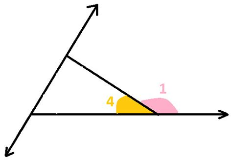 Adjacent Interior Angles by Adjacent Interior Angle Of Triangle At Algebra Den
