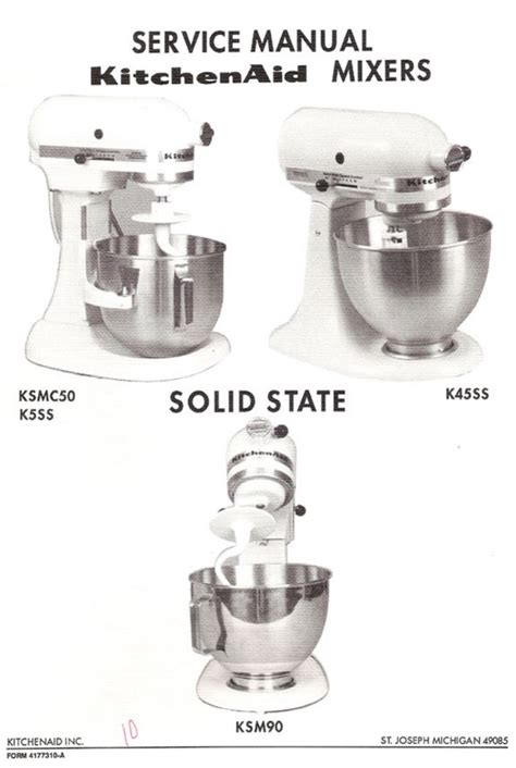 Kitchenaid Mixer Troubleshooting Kitchenaid Mixer K5ss User Guide Manualsonline