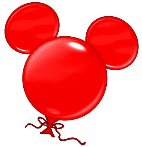 Mickey Balloon Outline by Redballoonhead Png 760 215 792 Disney Mickey Mice And Mickey Mouse