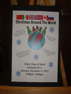 lds christmas party program ideas 62 best lds church ward activities images on program