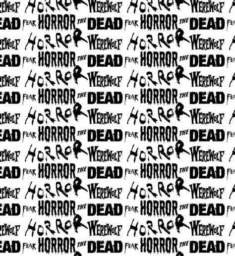 photoshop pattern horror horror words seamless photoshop and vector pattern