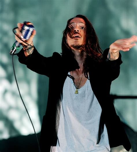 brandon boyd photos photos linkin park and incubus at