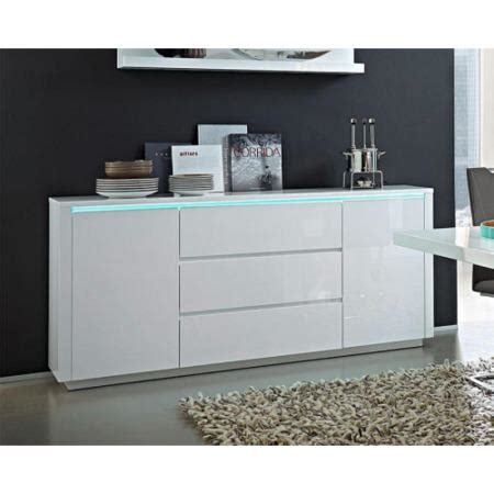 Germania Chicago White High Gloss Sideboard Furniture123 White Gloss Buffet