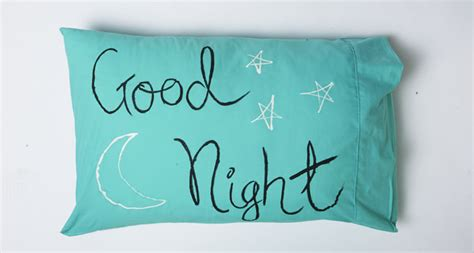 Nights Pillow by How To Throw A Grown Up Sleepover Pyjama Affairs