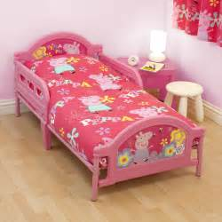 Peppa pig adorable toddler bed next day delivery peppa pig