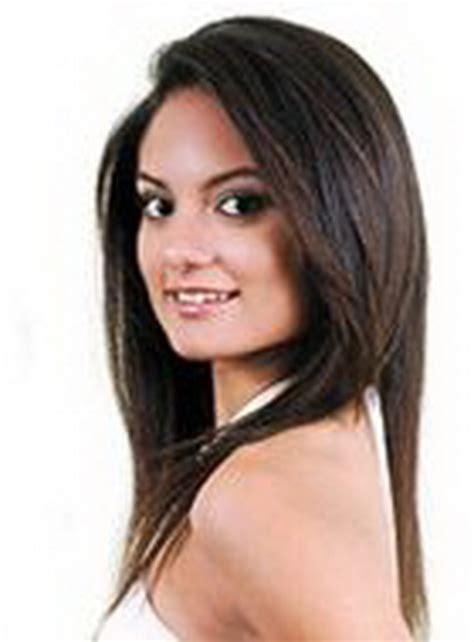 corte degrafilado largo corte de pelo en capas cabello largo degrafilado