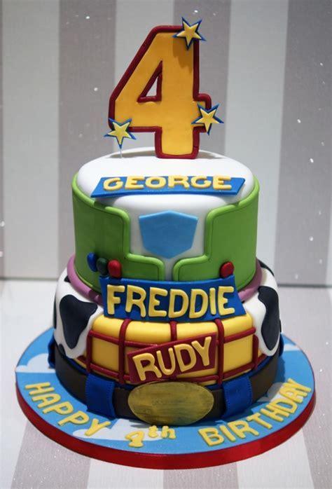 Toy Story 4th Birthday Cake   Bakealous