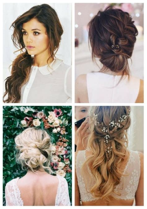 Casual Wedding Hairstyles For Hair by 27 Casual Wedding Hair Ideas Happywedd