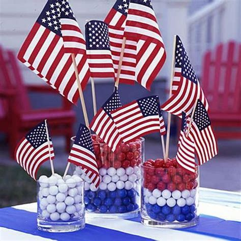 July 4th Table Decorations by Easy Table Decorations For 4th Of July Independence Day