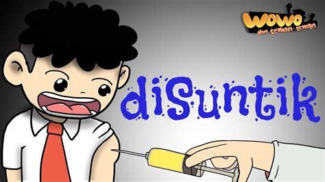 kartun lucu wowo  imunisasi animasi indonesia