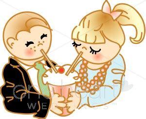 kids share smoothie clipart | wedding kids clipart
