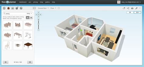 3d floor planner free floor plan software floorplanner review