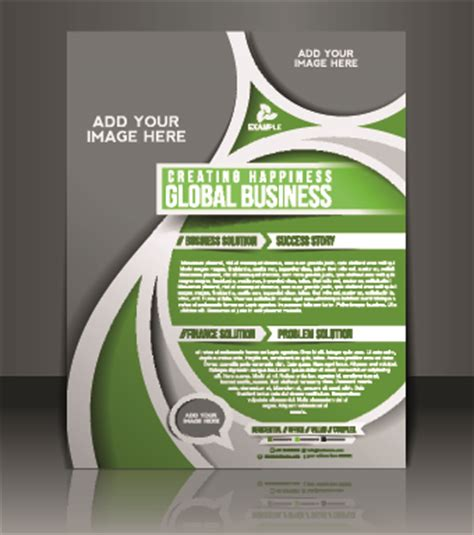 business flyer design vector free download business flyer and brochure cover design vector 73