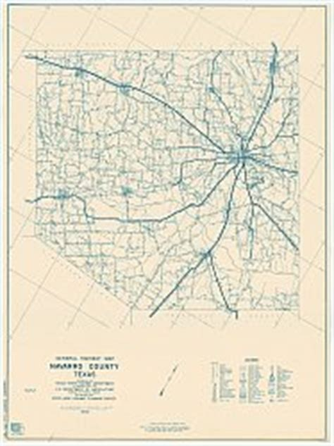 navarro texas map navarro county texas historical map 1936